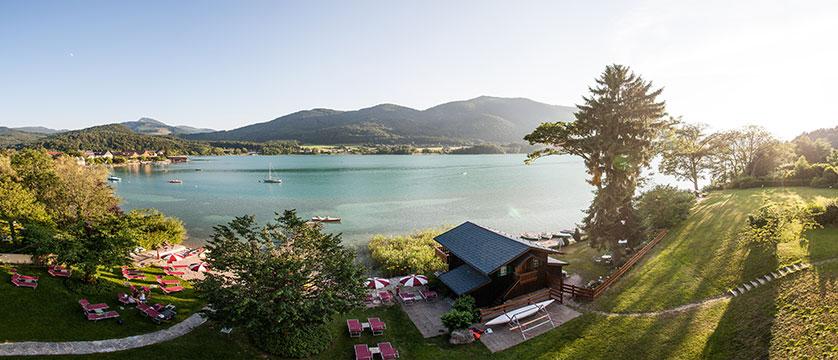 Hotel Seewinkel, Fuschl, Salzkammergut, Austria - view from Lake View room.jpg